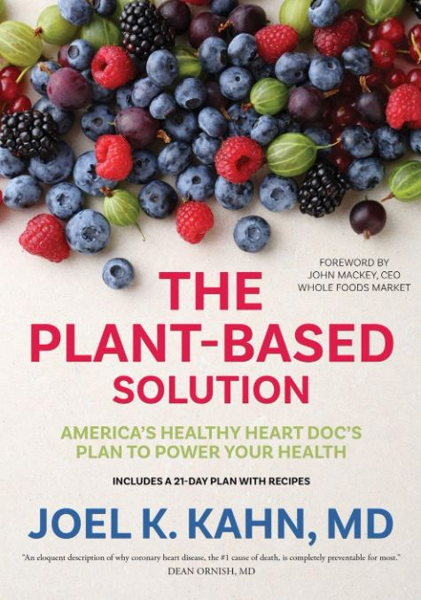the plant-based solution book cover