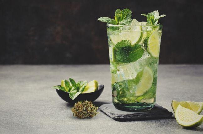 cannabis infused mojito