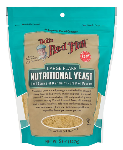Bob's Red Mill's Large Flake Nutritional Yeast