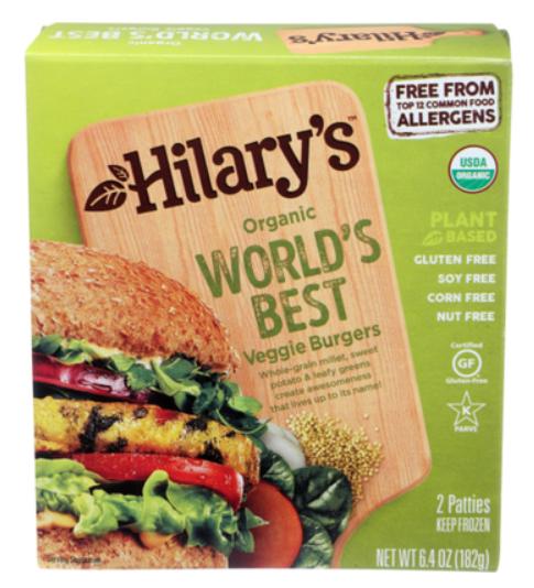 Hilary's Organic World's Best Veggie Burger